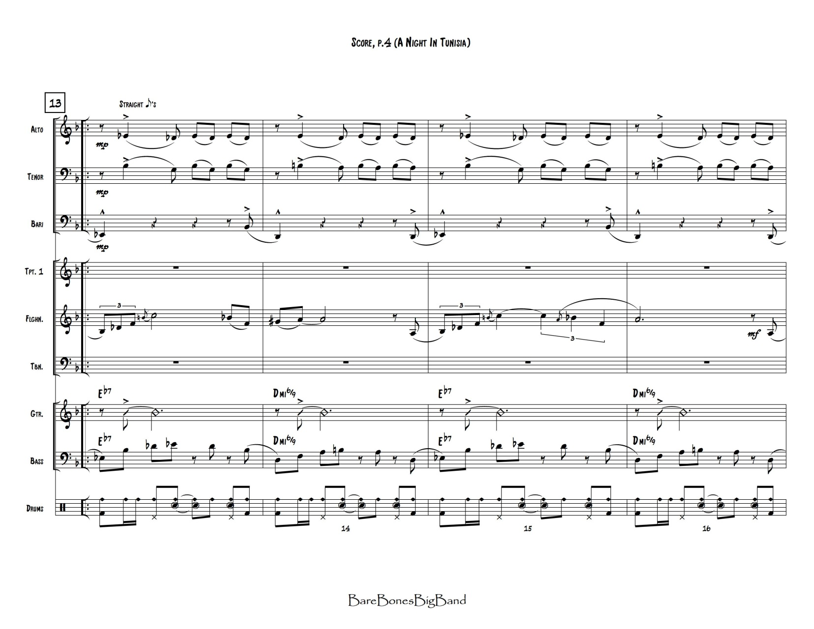 big band vocal charts pdf